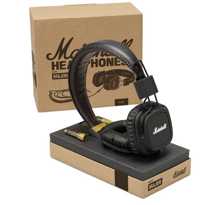 马歇尔Marshall-HIFI 头戴式语音线控耳机