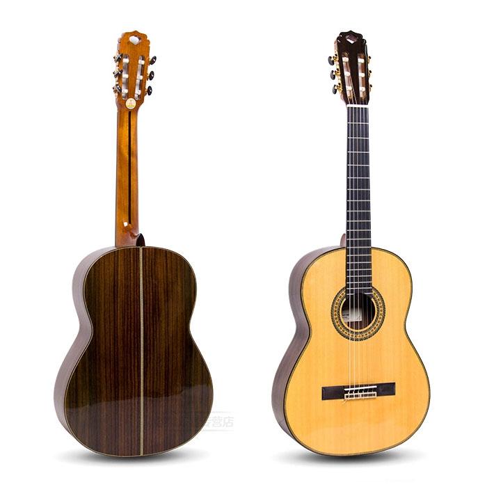 红棉全单古典吉他 实木吉他