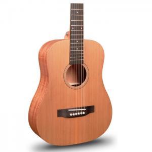 斗牛士34寸单板旅行吉他红松单板