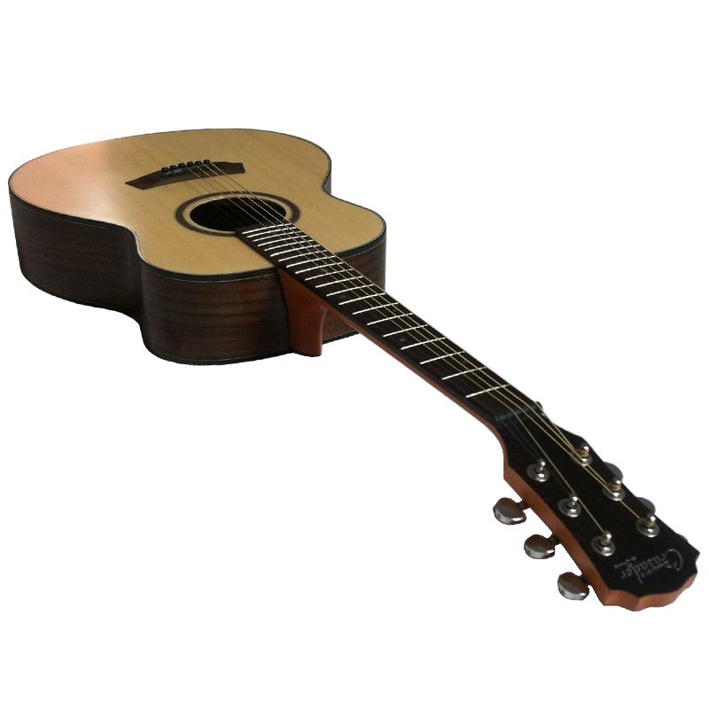 十字军36寸云杉玫瑰木旅行吉他