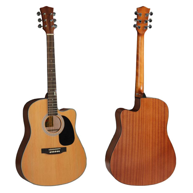 老款单板爱乐器S2红杉民谣吉他